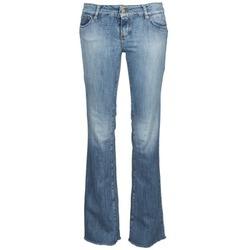 衣服 女士 喇叭牛仔裤 Acquaverde ADRIANA 蓝色