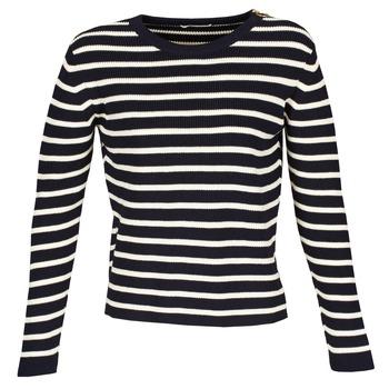衣服 女士 羊毛衫 Acquaverde MAS 海蓝色 / 浅米色
