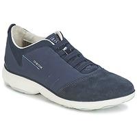 鞋子 女士 球鞋基本款 Geox 健乐士 NEBULA C 海蓝色
