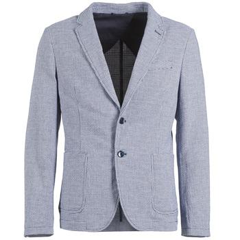 衣服 男士 外套/薄款西服 Benetton CHEVOTU 蓝色