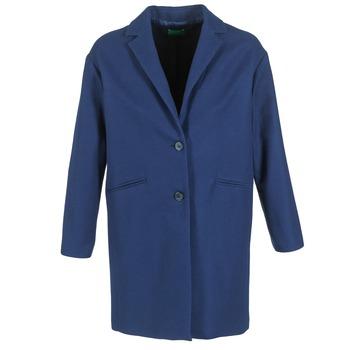衣服 女士 大衣 Benetton AGRETE 海藍色