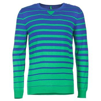 衣服 男士 羊毛衫 Benetton FODIME 海蓝色 / 绿色