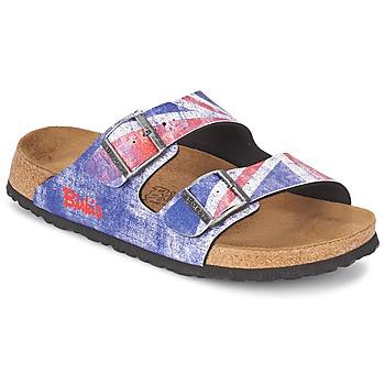 鞋子 男士 休闲凉拖/沙滩鞋 Birki's SANTIAGO  flag / Union / Jack