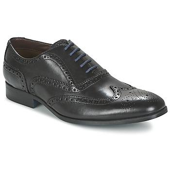 鞋子 男士 系带短筒靴 Clarks 其乐 BANFIELD LIMIT 黑色