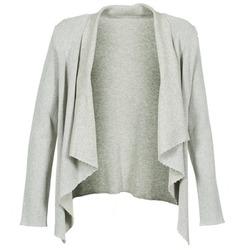 衣服 女士 羊毛开衫 Majestic 4003 灰色