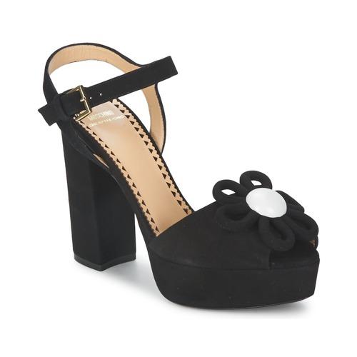 鞋子 女士 凉鞋 Moschino Cheap & CHIC CA1617 黑色