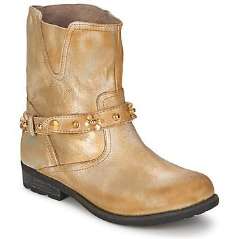鞋子 女士 短筒靴 Moschino Cheap & CHIC CA21013 金色