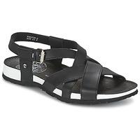 鞋子 男士 凉鞋 Panama Jack 巴拿马 杰克 FALCON 黑色