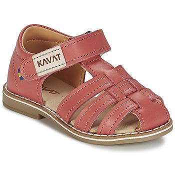 鞋子 女孩 凉鞋 Kavat FORSVIK 珊瑚色