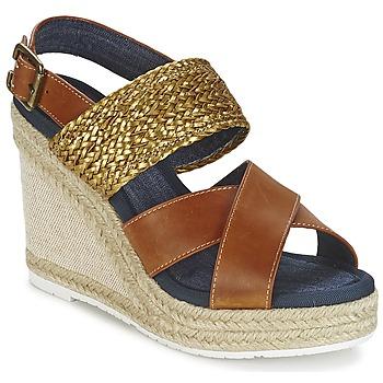 鞋子 女士 凉鞋 Napapijri BELLE 驼色 / 金色