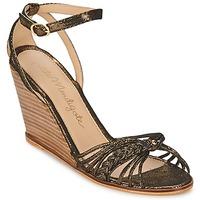 鞋子 女士 凉鞋 Petite Mendigote COLOMBE 黑色 / 金色