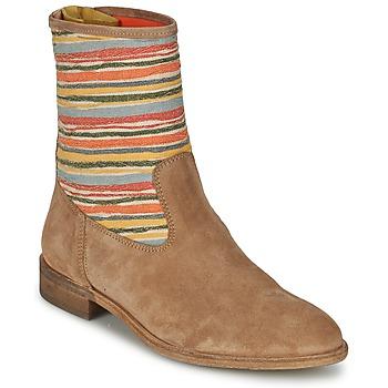 鞋子 女士 短筒靴 Goldmud COLON 灰褐色 / 多彩