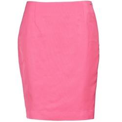 衣服 女士 半身裙 La city JUPE2D6 玫瑰色