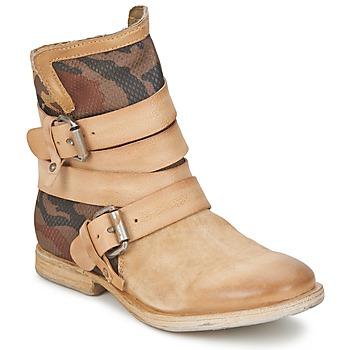 鞋子 女士 短筒靴 Airstep / A.S.98 TRIP METAL Nudo-militare-natural