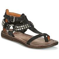 鞋子 女士 涼鞋 Airstep / A.S.98 RAME 黑色