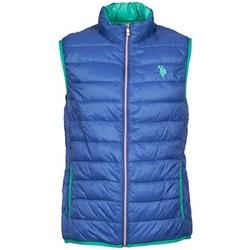 衣服 男士 羽绒服 U.S Polo Assn. 美国马球协会 USPA LT PADDED VEST 蓝色