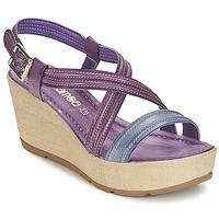 鞋子 女士 凉鞋 Samoa JEBEMA 紫罗兰 / 蓝色