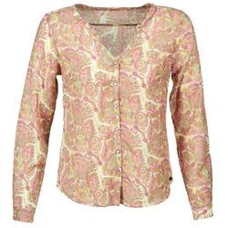 衣服 女士 衬衣/长袖衬衫 DDP GARDENIA 玫瑰色 / 绿色