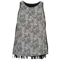 衣服 女士 无领短袖套衫/无袖T恤 Color Block PINECREST 灰色 / 黑色 / 白色