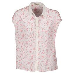 衣服 女士 短袖衬衫 Lola CANYON 白色 / 红色
