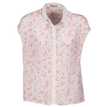 衣服 女士 短袖襯衫 Lola CANYON 白色 / 紅色