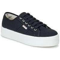 鞋子 女士 球鞋基本款 Victoria 维多利亚 BLUCHER LONA PLATAFORMA 黑色