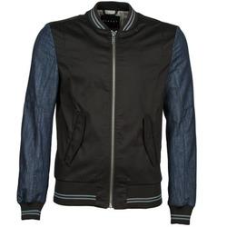 衣服 男士 夹克 Sisley 2ID2533A9 黑色 / 蓝色