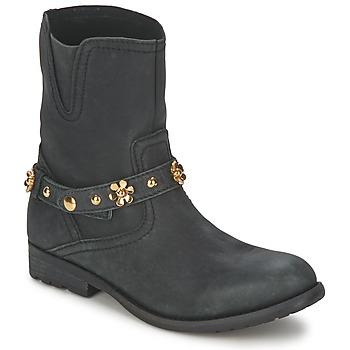 鞋子 女士 短筒靴 Moschino Cheap & CHIC CA21013G1ZCE 黑色