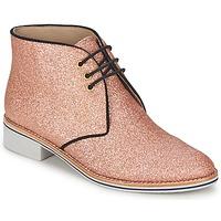 鞋子 女士 短筒靴 C.Petula STELLA 玫瑰色
