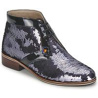 鞋子 女士 短筒靴 C.Petula PEGASE 银色