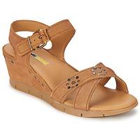 鞋子 女士 凉鞋 Manas  驼色