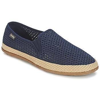 鞋子 男士 帆布便鞋 Bamba By Victoria COPETE ELASTICO REJILLA TRENZA 海蓝色