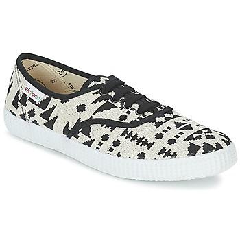 鞋子 女士 球鞋基本款 Victoria 维多利亚 INGLES GEOMETRICO LUREX 米色 / 黑色