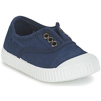 鞋子 儿童 球鞋基本款 Victoria 维多利亚 INGLESA LONA TINTADA 海蓝色