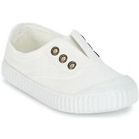 鞋子 儿童 球鞋基本款 Victoria 维多利亚 INGLESA LONA TINTADA 白色