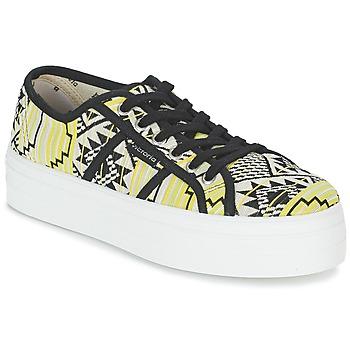 鞋子 女士 球鞋基本款 Victoria 维多利亚 BASKET ETNICO PLATAFORMA 黑色 / 黄色