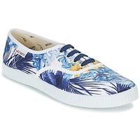 鞋子 女士 球鞋基本款 Victoria 维多利亚 INGLES FLORES Y CORAZONES 白色 / 蓝色