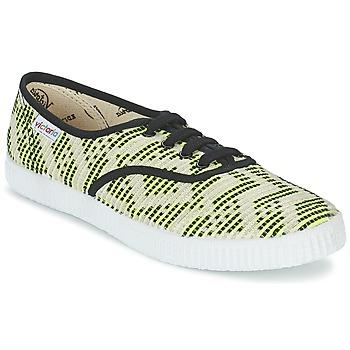 鞋子 女士 球鞋基本款 Victoria 维多利亚 INGLES GEOMETRICO LUREX 米色 / 柠檬色 / 黑色