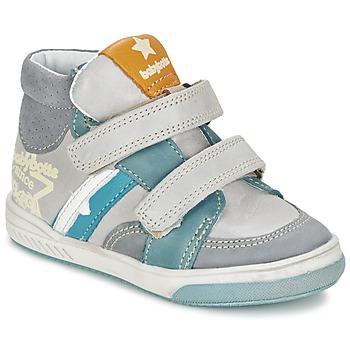 鞋子 男孩 高帮鞋 Babybotte 宝宝波特 APPOLON 灰色