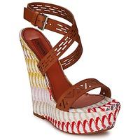 鞋子 女士 凉鞋 Missoni XM015 棕色 / 多彩