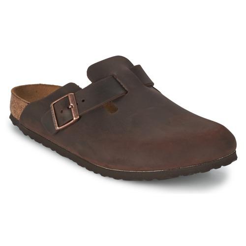 鞋子 男士 洞洞鞋/圆头拖鞋 Birkenstock 勃肯 BOSTON 棕色