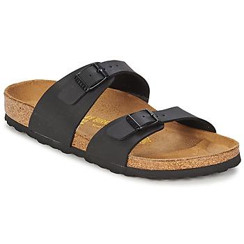鞋子 女士 休闲凉拖/沙滩鞋 Birkenstock 勃肯 SYDNEY 黑色 /  mat