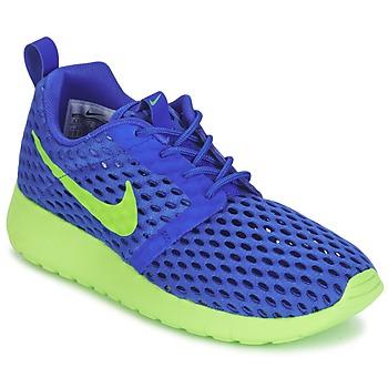 鞋子 男孩 球鞋基本款 Nike 耐克 ROSHE ONE FLIGHT WEIGHT BREATHE JUNIOR 蓝色 / 绿色