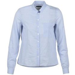 衣服 女士 衬衣/长袖衬衫 Marc O'Polo DEUZIA 蓝色