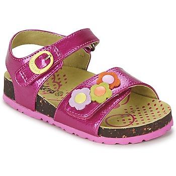 鞋子 女孩 凉鞋 Kickers MAGIFLOWER 紫红色