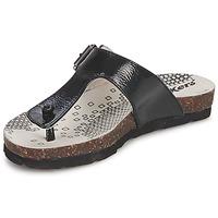 鞋子 女孩 人字拖 Kickers DITIK 黑色