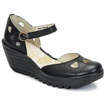鞋子 女士 高跟鞋 Fly London YUNA 黑色
