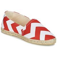 鞋子 女士 帆布便鞋 Maiett NOUVELLE VAGUE 红色 / 白色