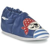 鞋子 男孩 儿童拖鞋 Robeez JOLLY PEG 蓝色