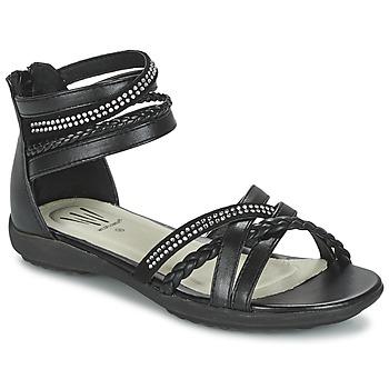 鞋子 女孩 凉鞋 Wildflower GRIMSTAD 黑色